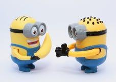 Subordinados felices Foto de archivo libre de regalías