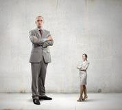 Subordination in business Stock Photo