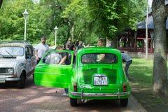 Subotica,Serbia-Jun 05,2016:Zastava 750 on Annual Oldtimer event Stock Photo