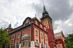 Subotica Serbien arkivbild