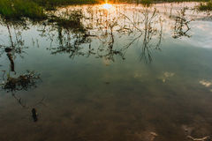 Subpradoo Reservoir in thailand Royalty Free Stock Image