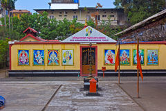 Subrahmanya印度寺庙  免版税库存图片