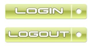Subscreva a tecla do Web Imagens de Stock