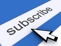 Subscribe. Image of Subscribe, http, Web Page Stock Photos