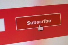 subscribe Lizenzfreie Stockfotos