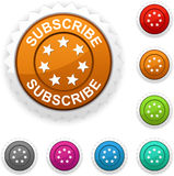 Subscribe  award. Illustration of Subscribe  award button Stock Photo
