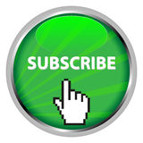 Subscribe badge Royalty Free Stock Images