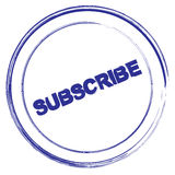 Subscribe icon Royalty Free Stock Image