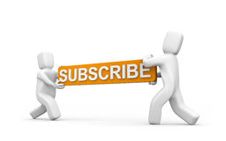 Subscribe now! stock illustration