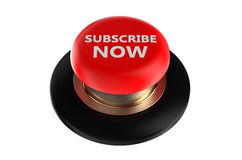 Subscribe now push button Royalty Free Stock Image