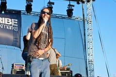 Subscribe Performing Live at Peninsula Festival Royalty Free Stock Photo