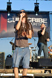 Subscribe Performing Live at Peninsula Festival Stock Photos