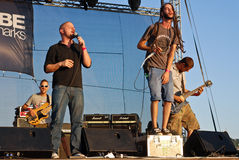 Subscribe Performing Live at Peninsula Festival Royalty Free Stock Image