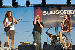 Subscribe Performing Live at Peninsula Festival Stock Images