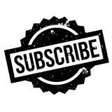 Subscribe rubber stamp Stock Photography