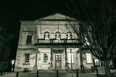 Subscription Rooms by night B. ENGLAND, STROUD - 02 NOV 2015: Subscription Rooms by night B stock images