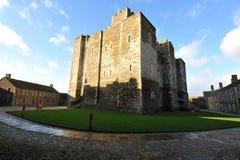 Subsistance de château de Douvres Photo stock