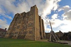 Subsistance de château de Douvres Photos stock