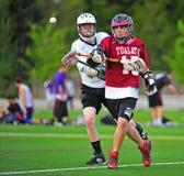 Subsistance de Lacrosse partie Photographie stock libre de droits