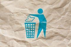 Subsistance propre s'il vous plaît Photos stock