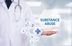 Substance Abuse Royalty Free Stock Photos