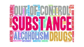 Substance Animated Word Cloud