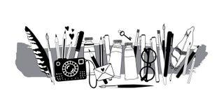 Substance d'artiste illustration libre de droits