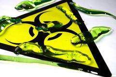 Substance de Biohazard photo libre de droits