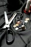 Substance de couture Photographie stock libre de droits