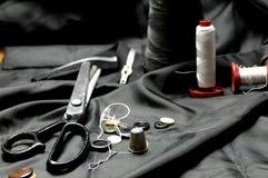 Substance de couture photographie stock