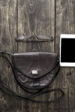 Substance de sac de femme Photo libre de droits