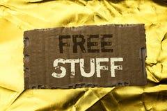Substance gratuite des textes d'écriture de Word Le concept d'affaires pour complémentaire exempt d'impayé sans frais de Chargele photo stock