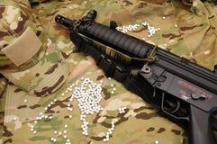Substance militaire 5 d'airsoft Image libre de droits