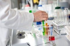 Substanci chemicznej Próbny przygotowanie obraz stock