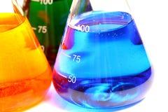 substancj chemicznych kolby szkło Zdjęcie Royalty Free