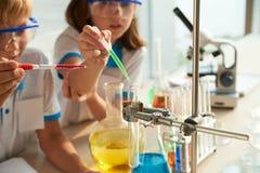 substancj chemicznych target1377_1_ Zdjęcie Stock