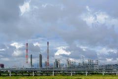 Substancja chemiczna kompleks na polypropylene produkci Fotografia Royalty Free