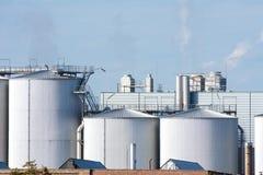 2011 substancja chemiczna może Odessa roślina Ukraine Zdjęcie Stock