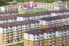 Substantial apartments. The substantial apartments in summer of China Royalty Free Stock Image
