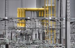 Substation Royalty Free Stock Images