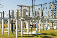Substation Royalty Free Stock Photo