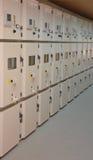 Substation 110/20kV inside Royalty Free Stock Image
