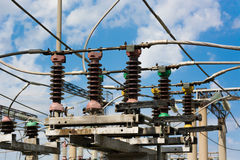 Substation Royalty Free Stock Photography