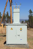 Substation Transformer Royalty Free Stock Image