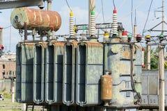 Substation,transformer Stock Image