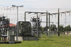 Substation Royalty Free Stock Photos