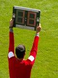 Substituição! Foto de Stock Royalty Free