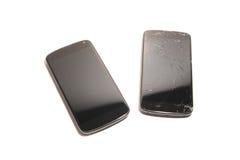 Substituição da tela de Smartphone Imagem de Stock
