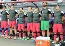 The substitutes of Steaua Bucharest Stock Photography