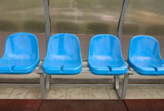 Substitution bench Royalty Free Stock Image